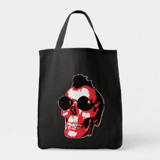 Mohawk Skull - rock'n'Roll Bolsa Tela Para La Compra