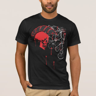 mohawk skull vector T-Shirt