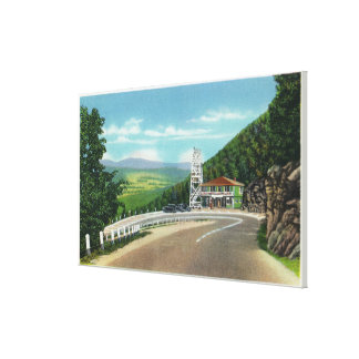 Mohawk Trail Hairpin Turn & Observation Tower Canvas Print