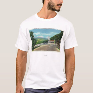 Mohawk Trail Hairpin Turn & Observation Tower T-Shirt