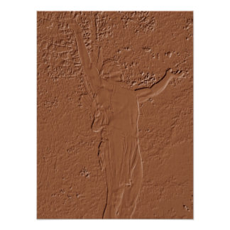 Mohawk Trail Statue Posters