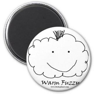 Mohawk Warm Fuzzy 2 Inch Round Magnet