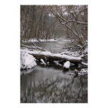Mohican River-Canvas Print