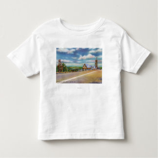 Mohican Trail Approaching Point Lookout Scene Toddler T-shirt