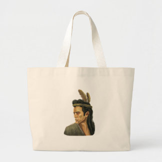 Mohican Warrior Portrait Bags