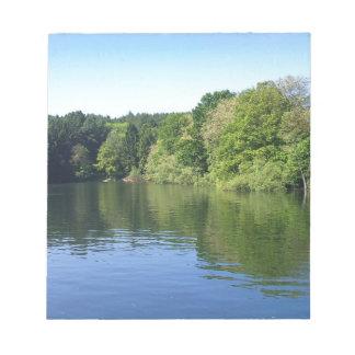 Mohnesee lake memo pad