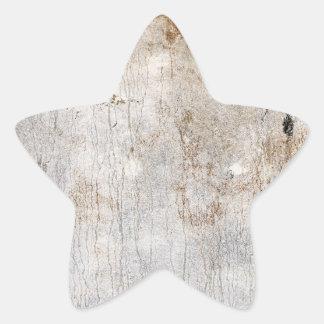 Moho acuoso (sol) pegatina en forma de estrella