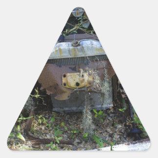 Moho del Cumberland Calcomanía Trianguloada