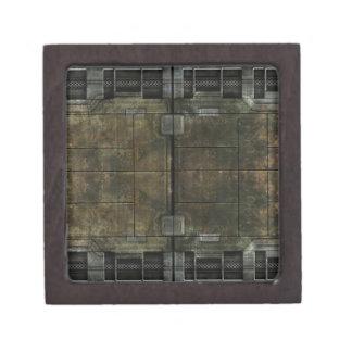 Moho del metal caja de joyas de calidad