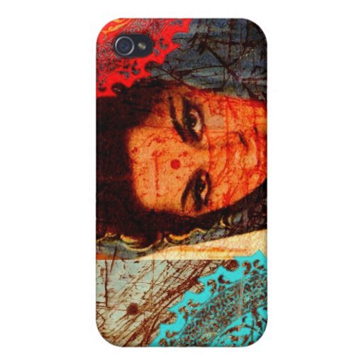 Moho indio iPhone 4 carcasa