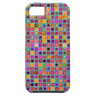 """Moho y modelo rústico púrpura de las tejas de la """" iPhone 5 Case-Mate cobertura"""