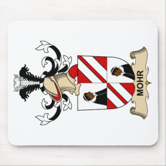 Mohr Family Crest Mouse Pad