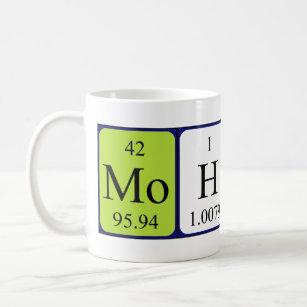With name mohsin coffee travel mugs zazzle mohsin periodic table name mug urtaz Choice Image
