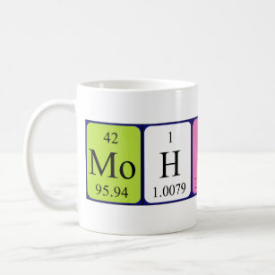 With name mohsin coffee travel mugs zazzle mohsin periodic table name mug urtaz Image collections