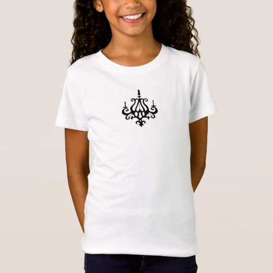 Moi Chic Chandelier ~ Tshirt Teen Girl