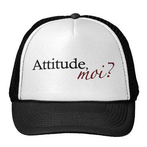 Moi de la actitud gorros bordados