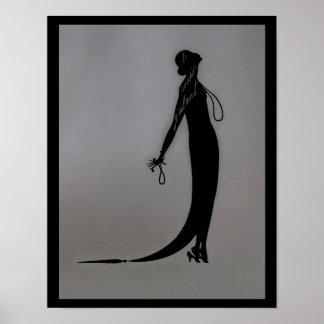 Moi Fashion Plate Poster