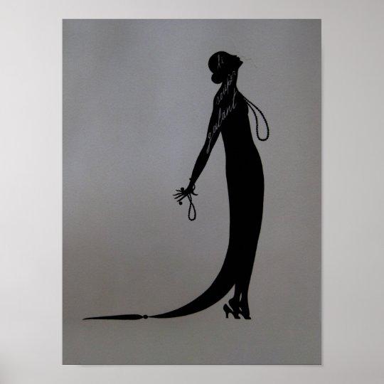 Moi Fashion Plate ~ Poster