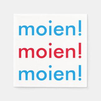 Moien! Paper Napkins