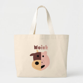 Moink: Cartoon cow and pig bag