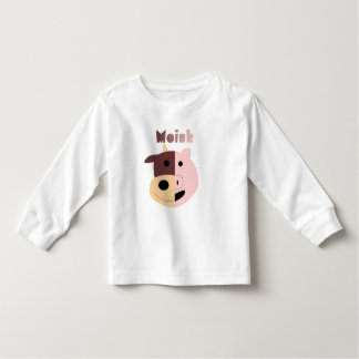 Moink: Cartoon cow and pig kid's t-shirt