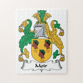 Moir Family Crest Puzzles