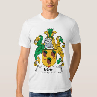 Moir Family Crest T Shirt