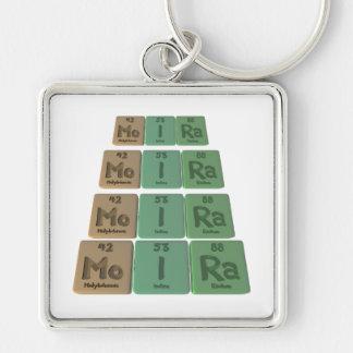 Moira as Molybdenum Iodine Radium Key Chain