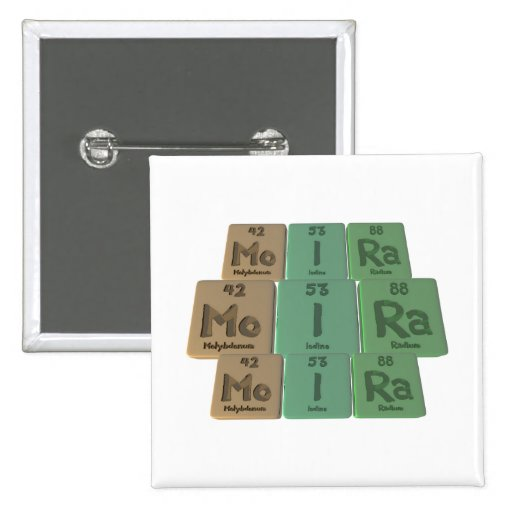 Moira as Molybdenum Iodine Radium Pin