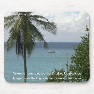 Moira at anchor, Bahia Drake, Costa Rica Mousepad