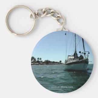 Moira at anchor off Altata, Mexico. Key Chain