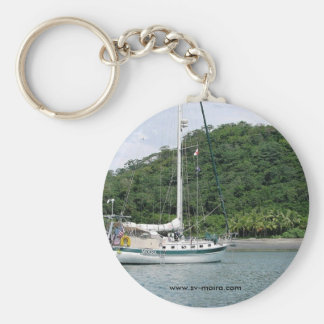 Moira at Isla Canas, Islas las Perlas, Panama Keychains