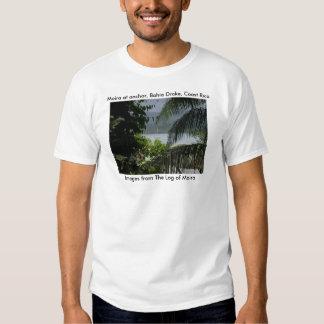 Moira en el ancla, Bahía Drake, costa Rica Remeras