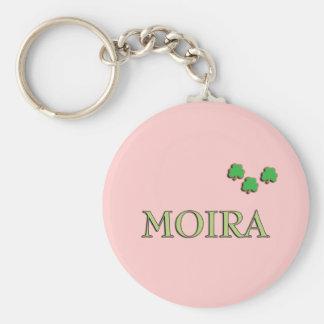 Moira Irish Girl Key Chain