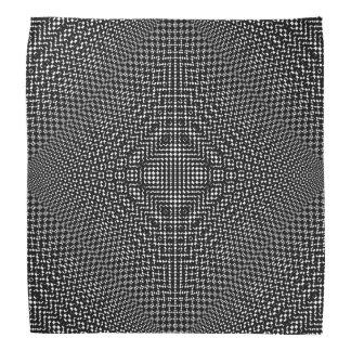 Moire Checkers Bandana