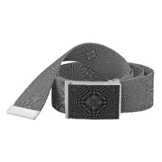 Moire Checkers Belt