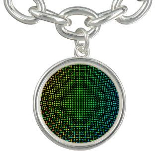 Moire Checkers Bracelet