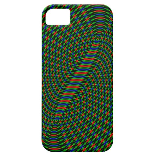 Moire Pattern iPhone 5 Cover