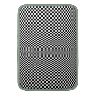 Moire Psycho Checkerboard iPad Sleeve