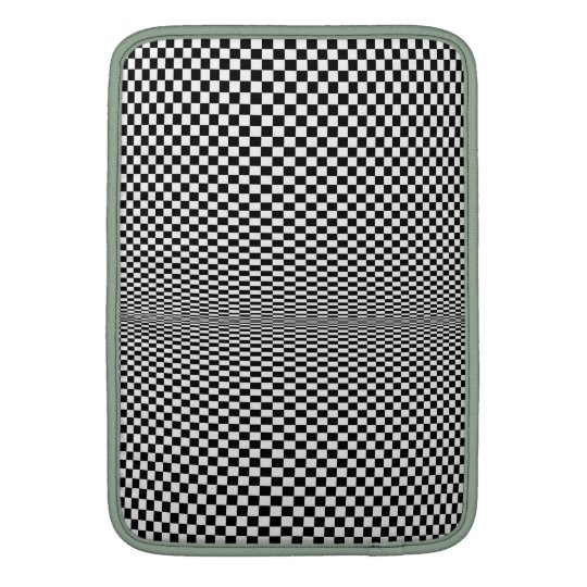 Moire Psycho Checkerboard iPad Sleeve