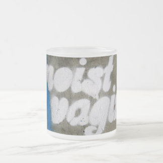 Moist Vagina Frosted Glass Coffee Mug