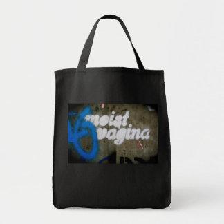 Moist Vagina Tote Bag