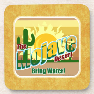 Mojave Death Valley Tourist Design Drink Coaster