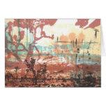 Mojave Desert Joshua Trees Art Card