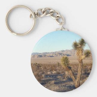 Mojave Desert scene 01 Key Chains