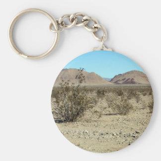 Mojave Desert scene 02 Keychain