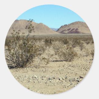 Mojave Desert scene 02 Stickers