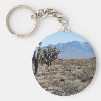 Mojave Desert scene 03 Keychains