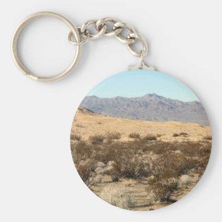 Mojave Desert scene 04 Keychains