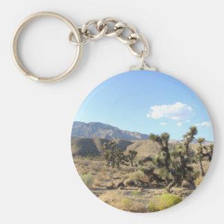 Mojave Desert scene 06 Keychain